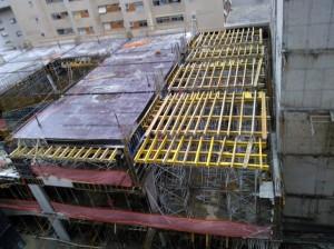 Construção do novo CSL   julho 2013